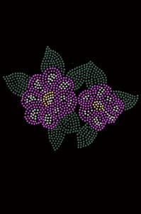 Magenta Flowers - Women's T-shirt
