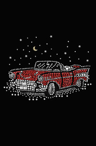 Red Convertible - Women's T-shirt