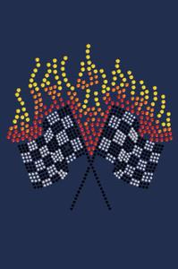 Race Flags - Women's T-shirt