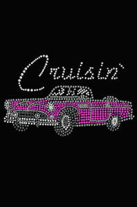 Cruisin Pink Convertible - Women's T-shirt