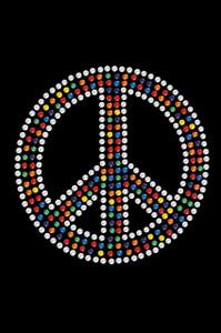 Peace Sign (Multicolor) - Women's T-shirt