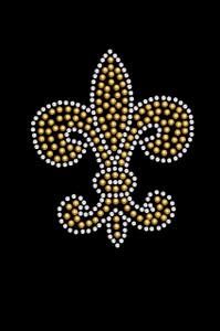 Fleur de Lis (Gold Rhinestuds) - Women's T-shirt