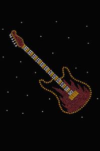 Guitar (Red & Gold) - Women's T-shirt