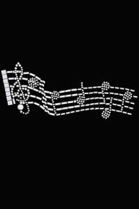 Music Notes - Women's T-shirt