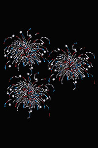 FIreworks (Cluster of Three)  - Women's T-shirt
