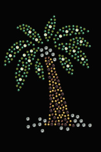 Palm Tree (Green) - Women's T-shirt
