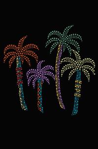 Palm Trees (Multicolor) - Women's T-shirt