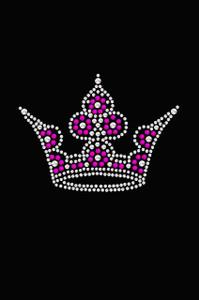 Crown # 6 (Pink, & AB) - Women's T-shirt