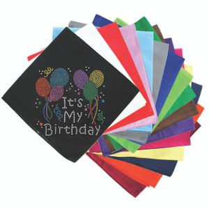 It's My Birthday - Bandanna