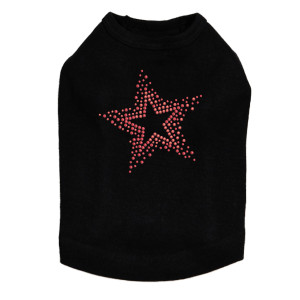 Red Star dog tank for large and small dogs.