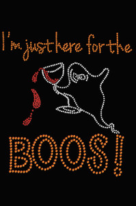 I'm Just Here for the Boos! - Adult Tee