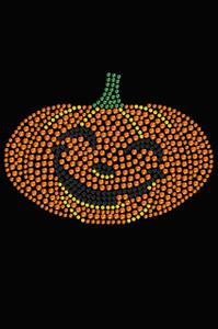 Smiling Jack-o-lantern - Women's T-shirt