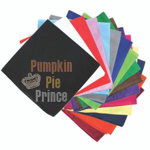 Pumpkin Pie Prince Bandanna