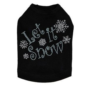 Let it Snow Dog Tank