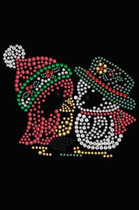 Christmas Birds - Black Women's T-shirt