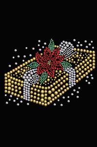 Gold Christmas Gift - Black Women's T-shirt