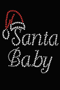 Santa Baby - Black Women's T-shirt