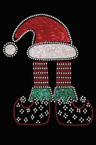Christmas Elf - Black Women's T-shirt