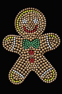 Gingerbread Man - Black Women's T-shirt