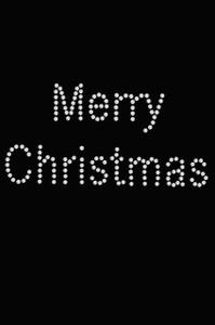 Merry Christmas - Black Women's T-shirt