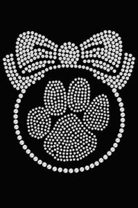 Paw Ornament - Black Women's T-shirt
