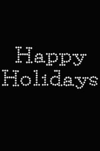 Happy Holidays - Black Women's T-shirt