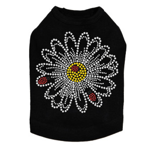Large Daisy with Lady Bugs dog tank for small and large dogs.