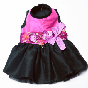 The Kaitlyn Silk Dog Harness Dress