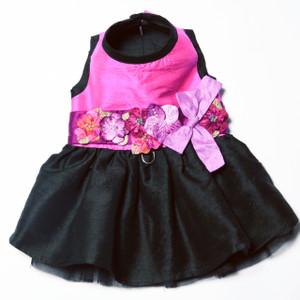 The Kaitlyn Silk Dog Harness Dress