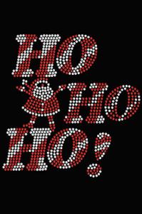 Ho Ho Ho Santa - Black Women's T-shirt