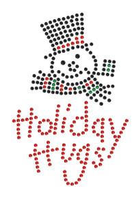 Holiday Hugs - White Women's T-shirt