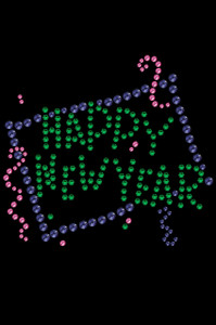 Happy New Year Confetti - Women's T-shirt