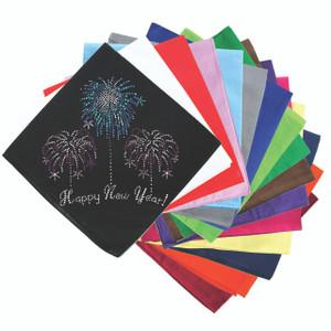 Happy New Year Fireworks - Bandanna
