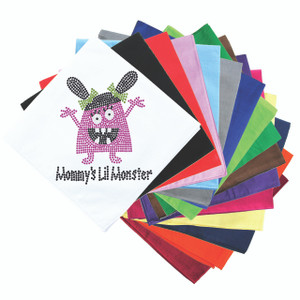 Mommy's Lil Monster (Pink) - Bandanna