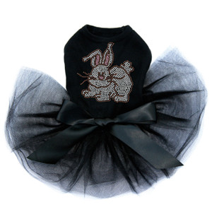 Easter Bunny dog tutu for large and small dogs.