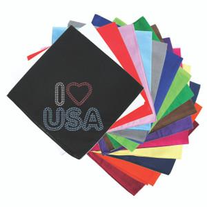 I Love USA #2- Bandanna