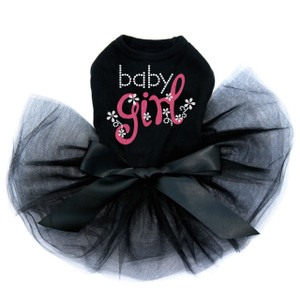 Baby Girl dog tutu for large and small dogs.