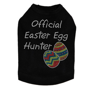 Official Easter Egg Hunter dog tank for large and small dogs.