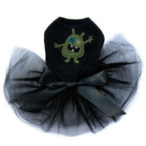 Mommy's Lil Monster tutu for large and small dogs.