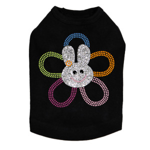 Flower Bunny dog tank for large and small dogs.