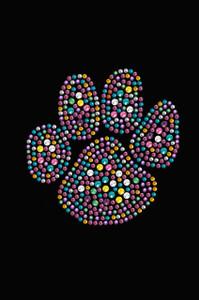 Multicolor Paw - Women's T-shirt