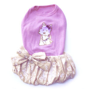 The Hugs & Kisses Puppy Bubble Dress
