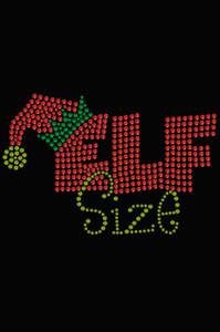 Elf Size - Black Women's T-shirt