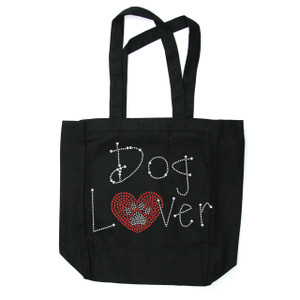 Dog Lover Tote Bag.  Tote bags are available in different styles and colors.