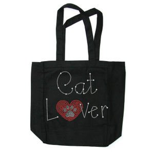 Cat Lover Tote Bag.  Tote bags are available in different styles and colors.