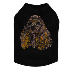 Cocker Spaniel Face Dog Tank
