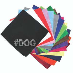 #DOG - Silver Nailhead - Bandanna
