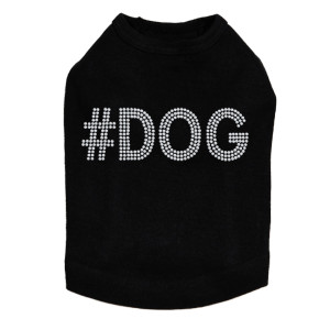 #DOG - Silver Nailhead - Dog Tank