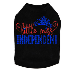 Little Miss Independent - Dog Tank