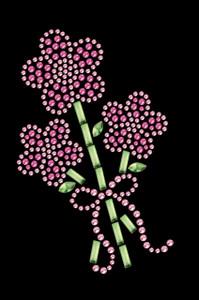 Pink Flower Bouquet - Women's T-shirt